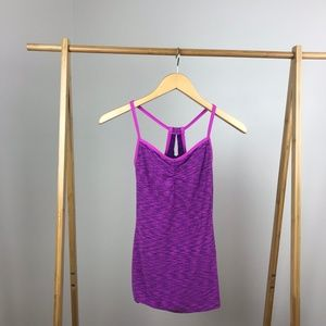 Lucy • Heart Center Camisole Purple Extra Small
